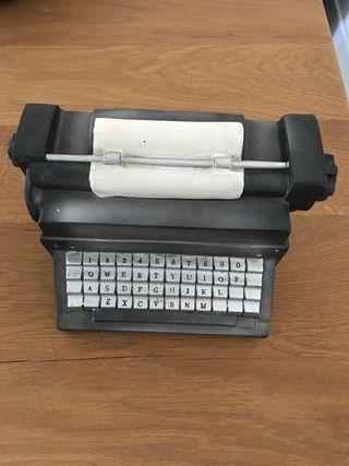 Decoración máquina de escribir