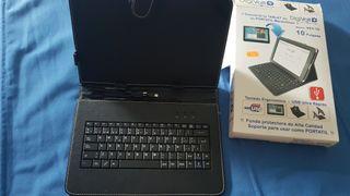 Funda Tablet c/teclado Usb