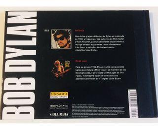 2 Discos oficiales de BOB DYLAN y 1 libro