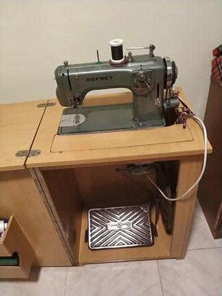 máquina coser eléctrica REFREY