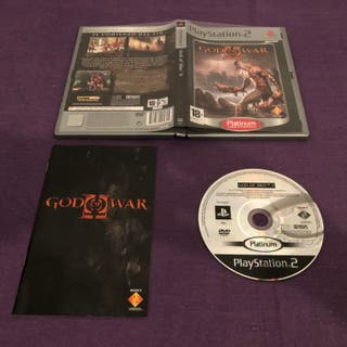 GOD OF WAR II SONY PLAYSTATION 2