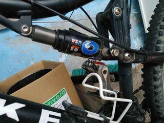 Bici MTB doble suspensión Rookie