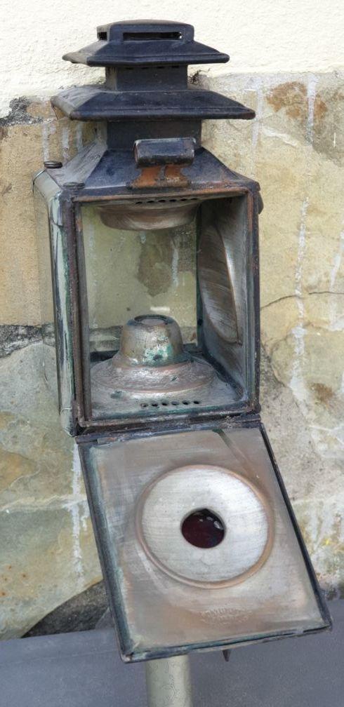 Farol Carruaje Antiguo de la India