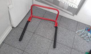 Soporte plegable pared para bicicleta