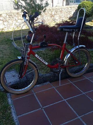 bicicleta antigua torrot bmx