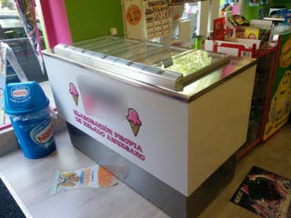 vitrina pozzetti helado artesano