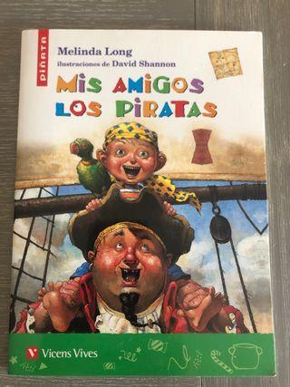Libro Mis amigos los piratas, Edit. Vicens Vives
