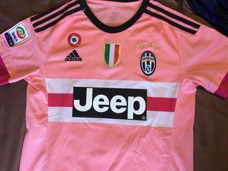 Segunda equipación Juventus rosa