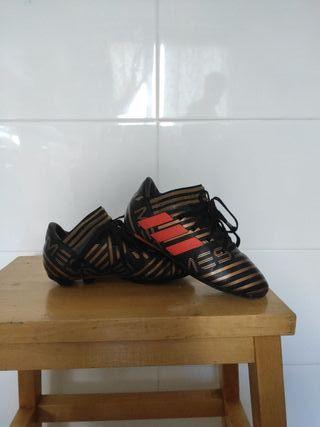 botas de futbol talla 31 adidas