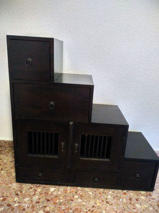 Mueble Madera Escalera (Recibidor y/o Dormitorio)