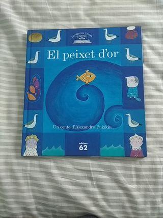 libro, cuento infantil EL PEIXET D.OR