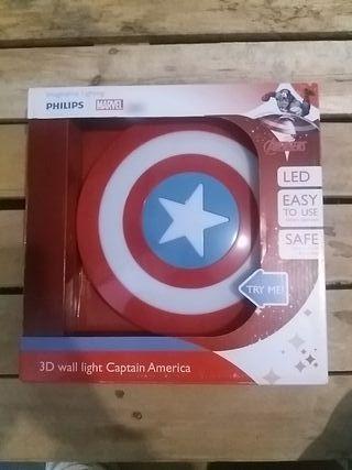 Escudo Captain America luz