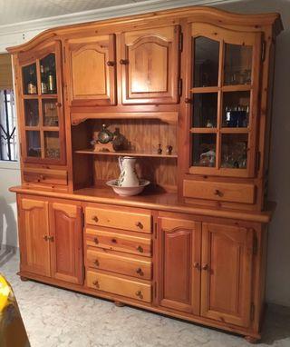 Mueble comedor madera maciza