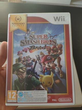 super Smash Bros brawl de Nintendo Wii