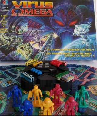 juego de mesa virus omega