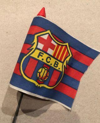 Banderín bicicleta F.C. Barcelona