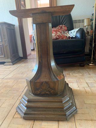 Mesa de comedor madera nogal