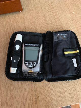 Aparato para diabetis (medidor de azucar)