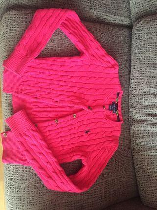 chaqueta rosa Ralph Lauren