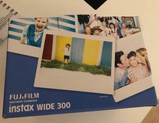 Cámara Instantánea Fujifilm Intax Wide 300