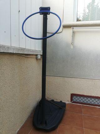Base canasta baloncesto para niño