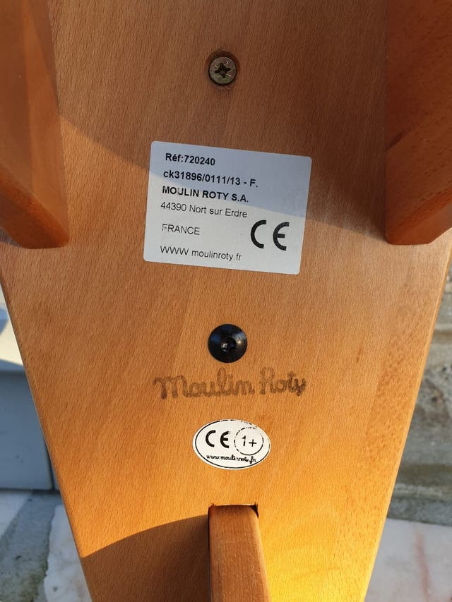 Balancín de madera Moulin Roty