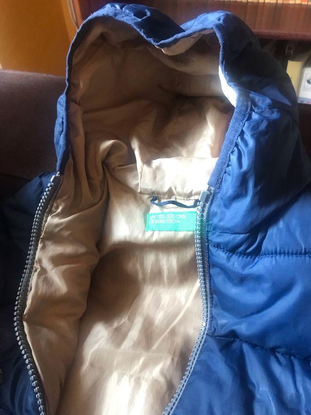 Abrigo plumífero Benetton 1/2 años