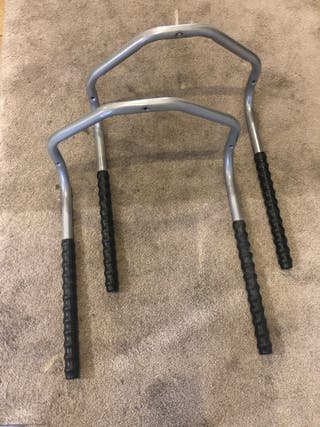 Dos soportes Bicicletas