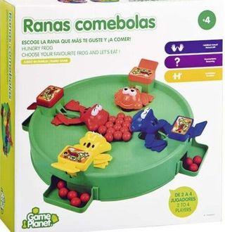 JUEGO DE MESA (RANAS COMEBOLAS). NIÑOS +4 AÑOS