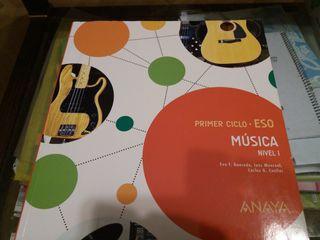 Libro Música 2 ESO ANAYA