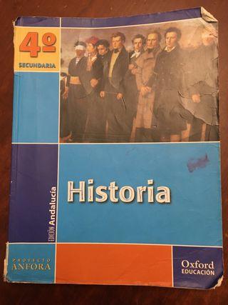 Libro Historia 4 Secundaria Oxford Ánfora
