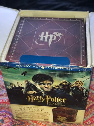 Harry Potter Wizard's Collection (Blu-ray/dvd)