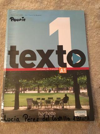 Libro francés 1bachillerato/ A1
