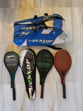 bolsa raquetas +4raquetas