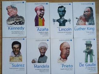 Colección de libros Las voces de la democracia