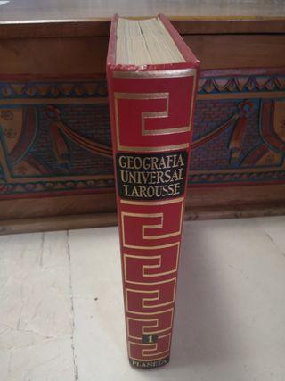 Geografía universal Larousse tomo1 ed Planeta