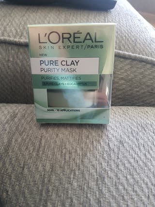 L'Oreal pure clay