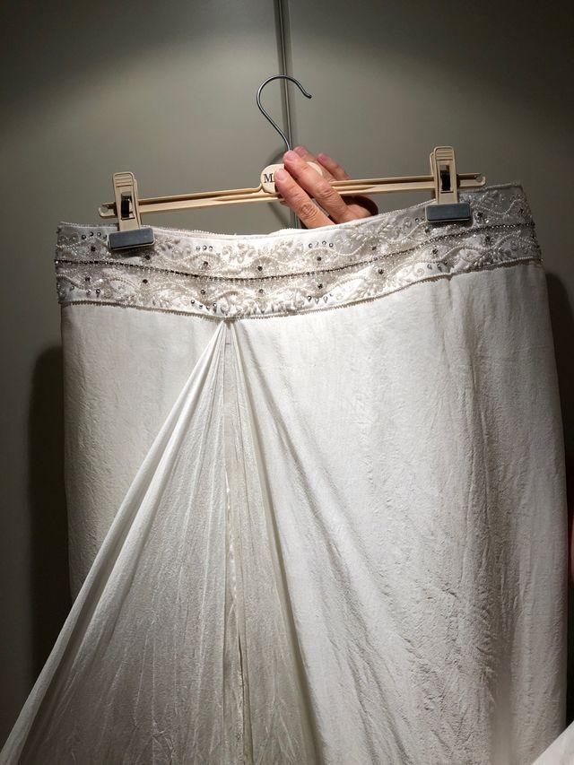 Falda novia - diseñador Jordi Dalmau
