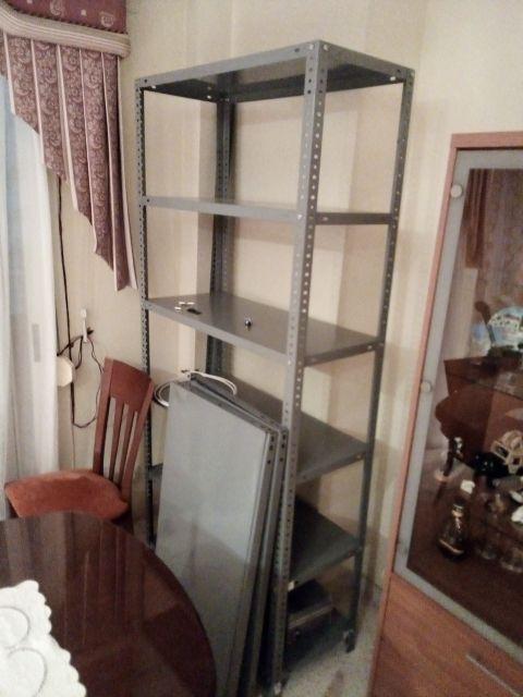 Se venden estanterias metalicas - Estanterias metalicas para casa ...