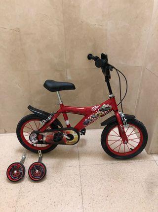 Cars - Bicicleta 12 Pulgadas