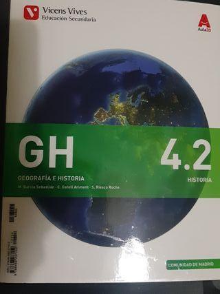 libro geografía e historia
