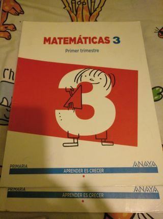 Matemáticas 3º Primaria Anaya