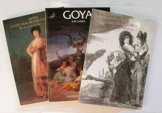 3 Libros de arte sobre Goya