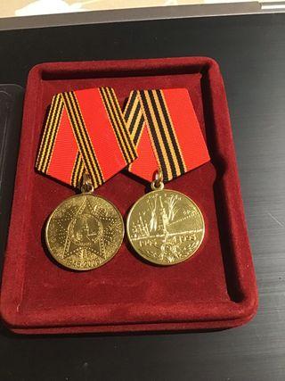 Col·leccionismo medallas rusas la 2aGM