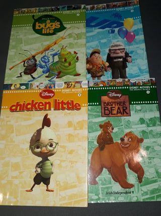 Colección de libros Disney en inglés