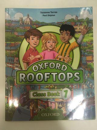 Libro inglés rooftops 1ro de primaria