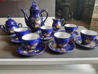 Juego de café Japones de porcelana Vintage