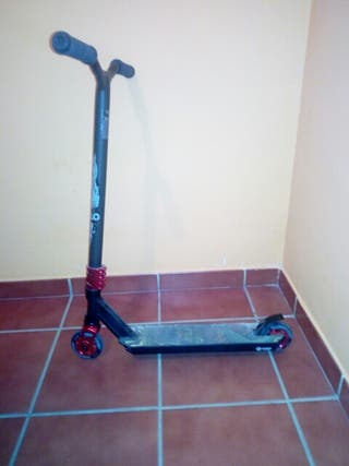 scooter oxelo black red