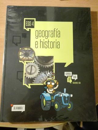 Libro Geografía e Historia (Ed. Edelvives) 4° ESO