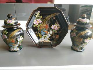 Piezas decorativas Japonesas Vintage